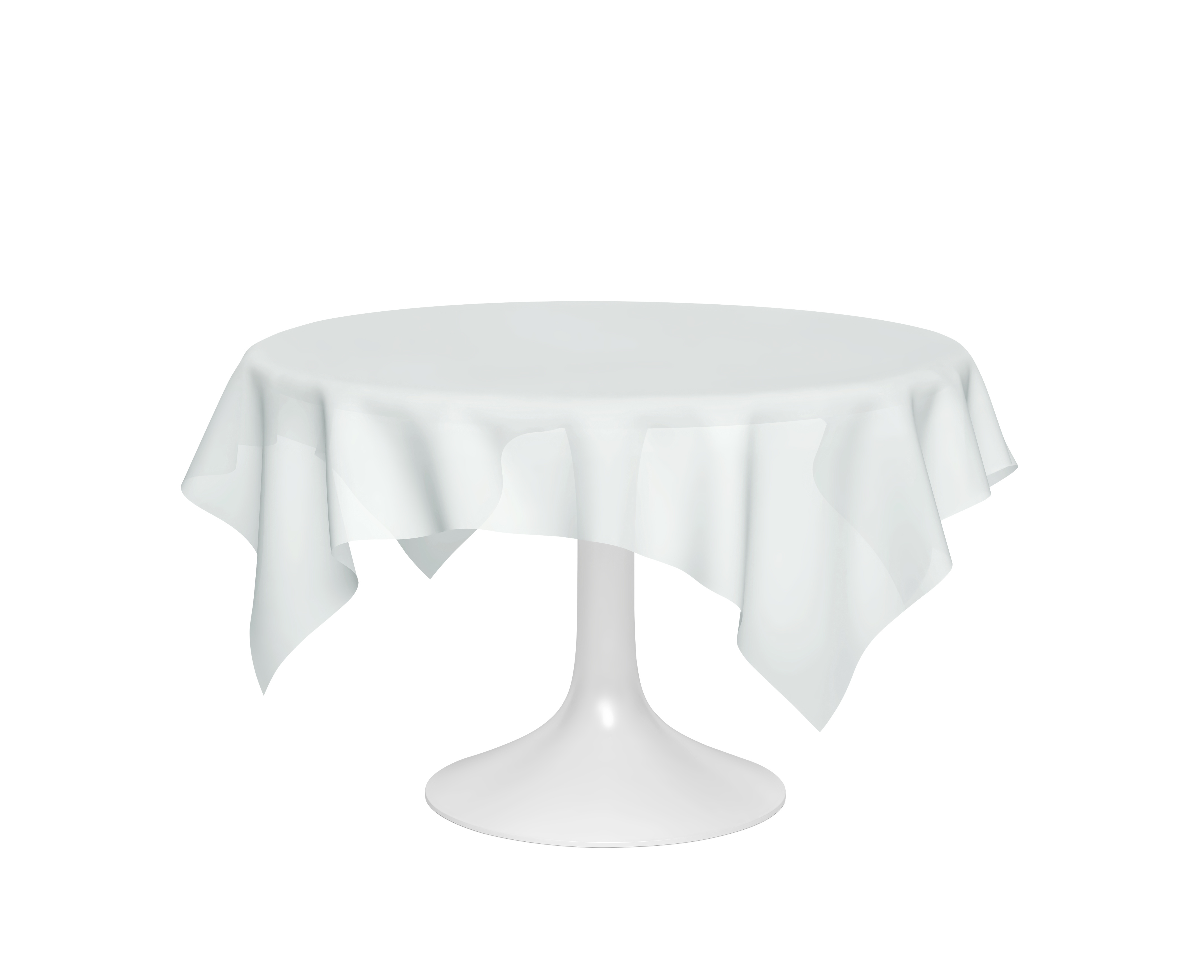 72x72 inch tablecloth on 60 inch round table