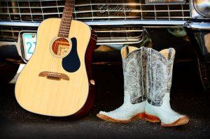 boots guitar cadillac