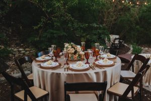 Tablescape in Sanctuary Event Space