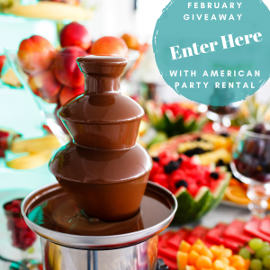 Chocolate Fountain Giveaway Entry