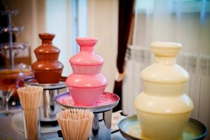 Chocolate fountain trio