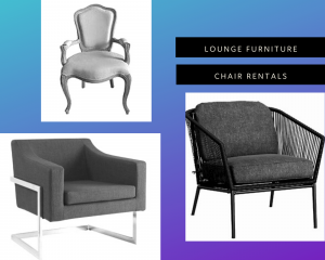 Lounge Furniture Chair Rentals