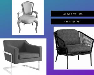 Lounge Furniture Chair Rentals