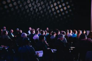 Keynote Speaker Session at Conference, Corporate Event