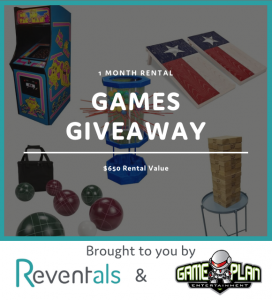 Games Giveaway